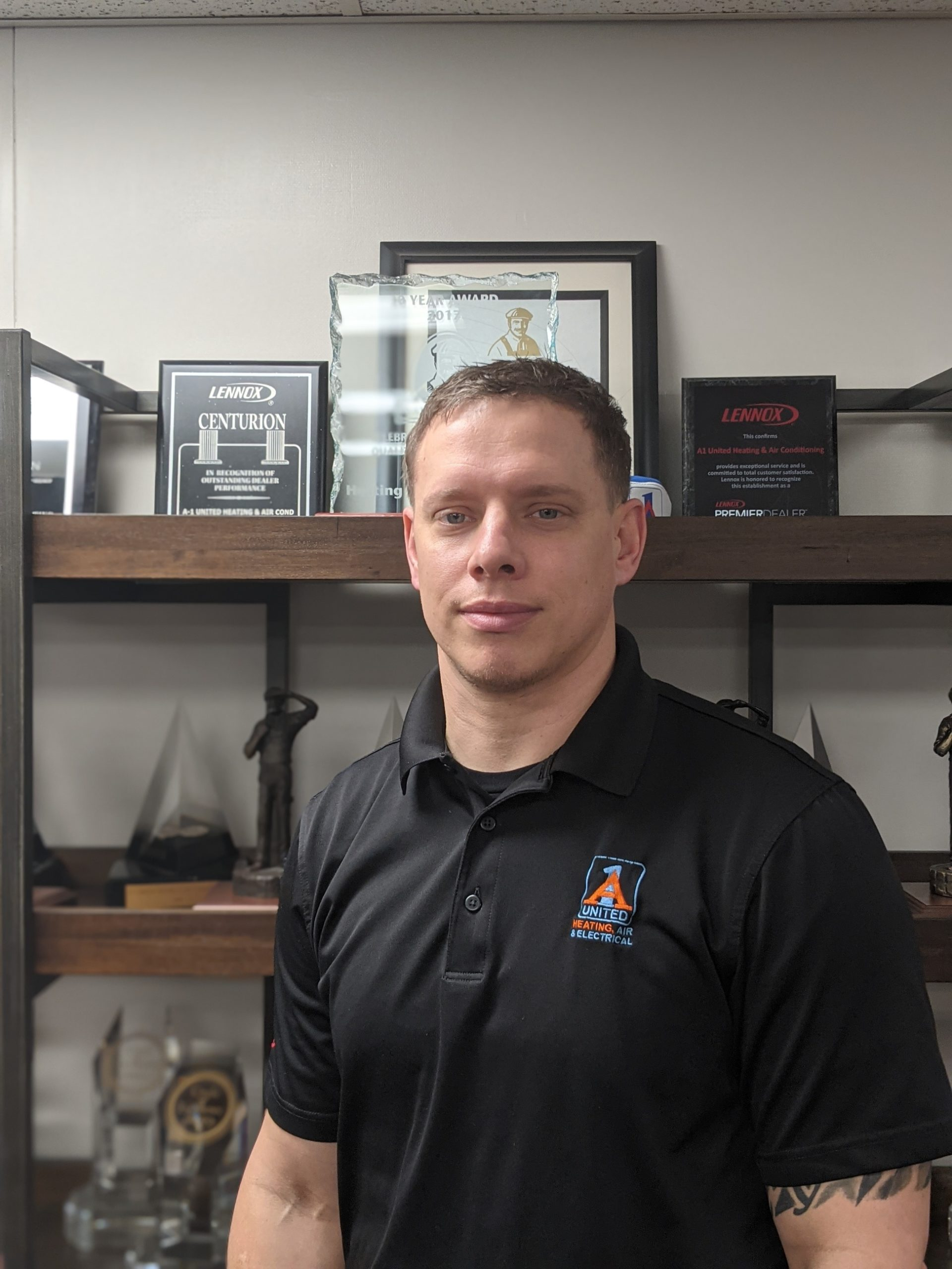 Brett Henn a-1 united heating air and electrical residential and commercial replacement manager